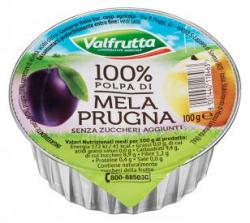 POLPA FRUTTA MELA/PRUGNA 100GR