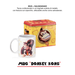 MUG E SALVAD DONKEY KONG...