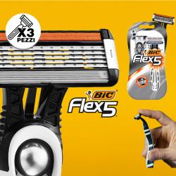 3PZ RASOIO FLEX5