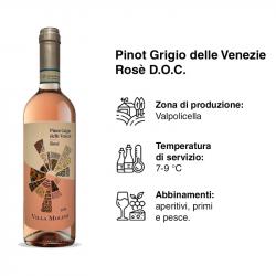 PINOT GRIGIO BLUSH VILLA...