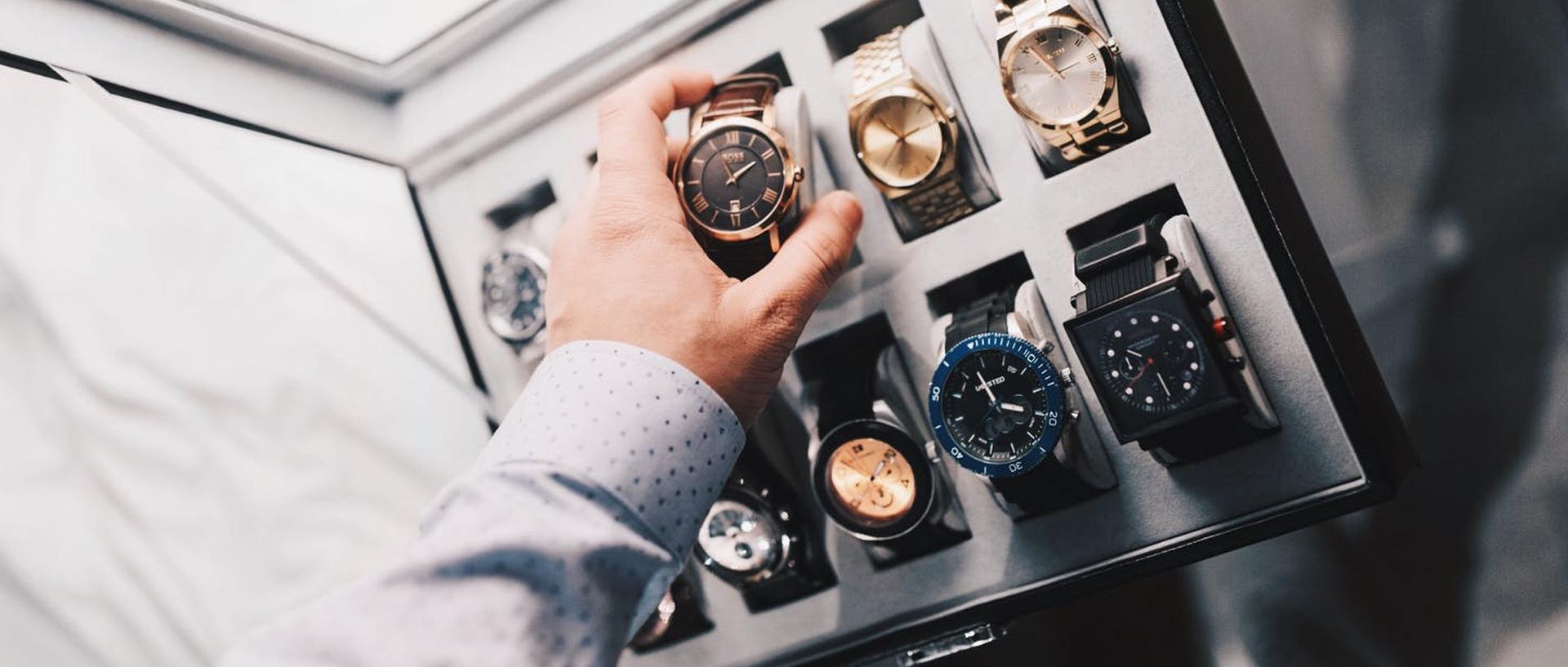 Gioielli, orologi, penne ed accessori